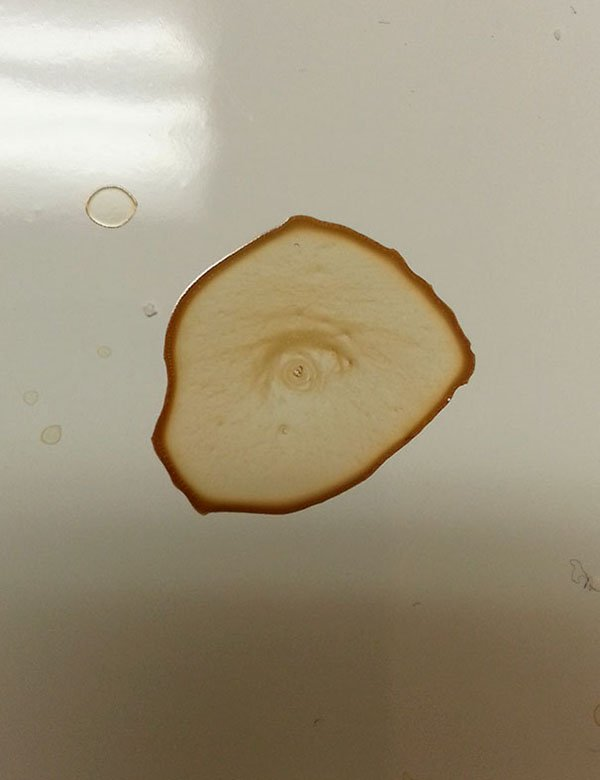 Accidental Spills coffee eye