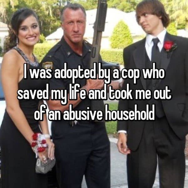 Adoption Stories adopted by a cop
