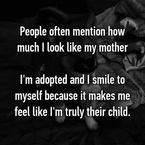 Adoption Stories look like my mother