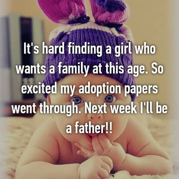Adoption Stories next week ill be a father