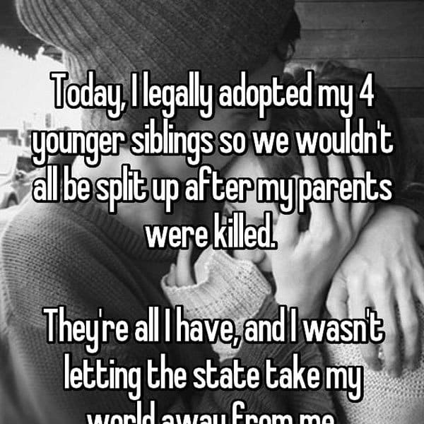 Adoption Stories parents killed