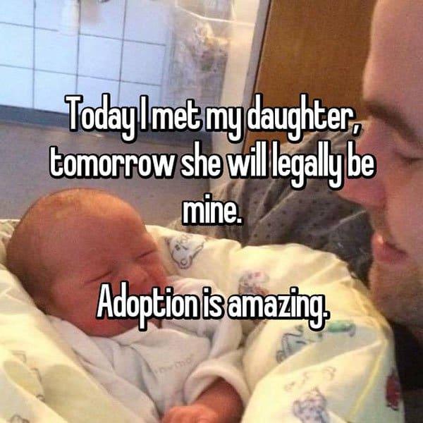 Adoption Stories today i met my daughter