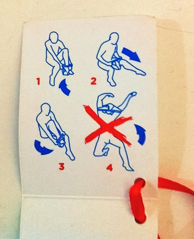 Amusing Instructions how to wear pants