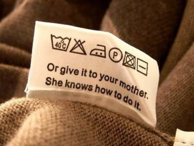 Amusing Instructions or give it to your mother