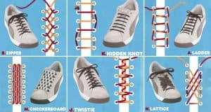 Awesome And Unique Ways To Tie Your Shoelaces