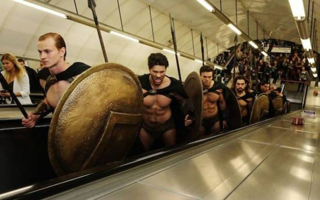 Brilliant Examples Of Cosplay 300 spartans
