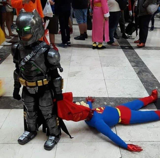 Brilliant Examples Of Cosplay batman vs superman