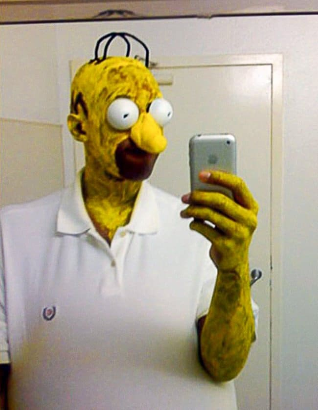 Brilliant Examples Of Cosplay homer simpson