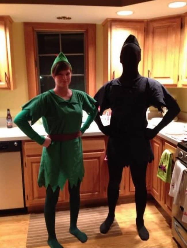 Brilliant Examples Of Cosplay peter pan and shadow