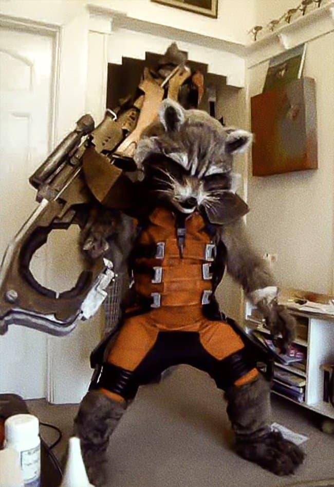 Brilliant Examples Of Cosplay rocket racoon