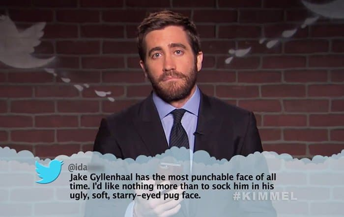 Celebrities Read Mean Tweets About Themselves jake gyllenhaalCelebrities Read Mean Tweets About Themselves jake gyllenhaal