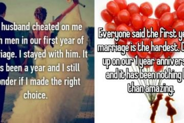 Confessions About People's First Year Of Marriage