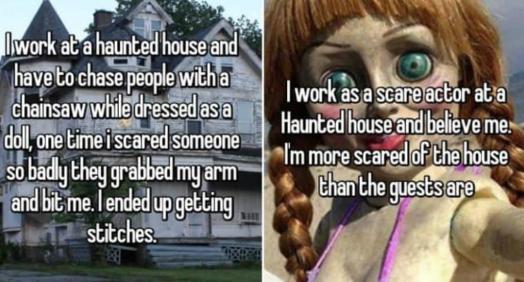 Confessions From Haunted House Workers
