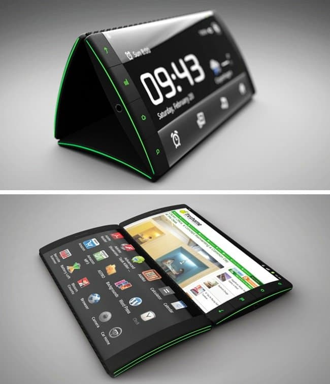 Cool Inventions 3 sided flip phone