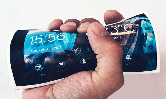 Cool Inventions flexible smartphone