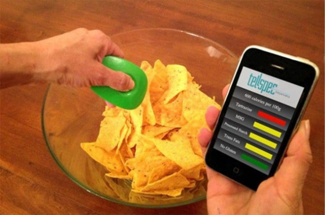 Cool Inventions food composition scanner