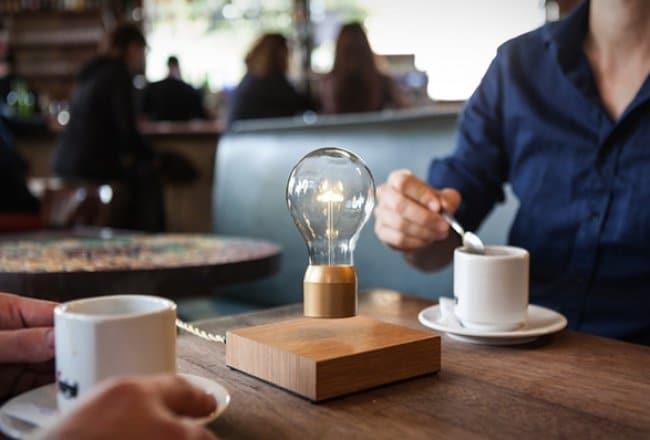 Cool Inventions levitating desk lamp