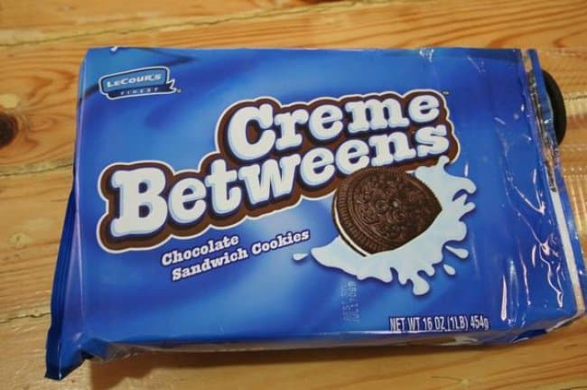 Copies Of Famous Brands creme betweens