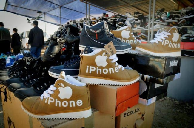 Copies Of Famous Brands iphone shoes