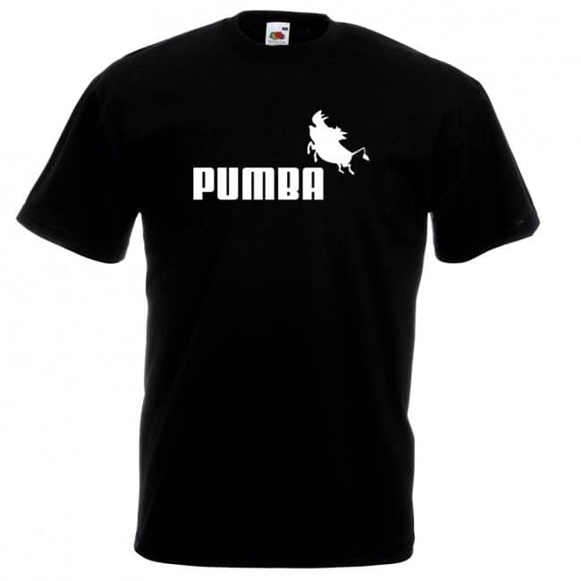 Copies Of Famous Brands pumba