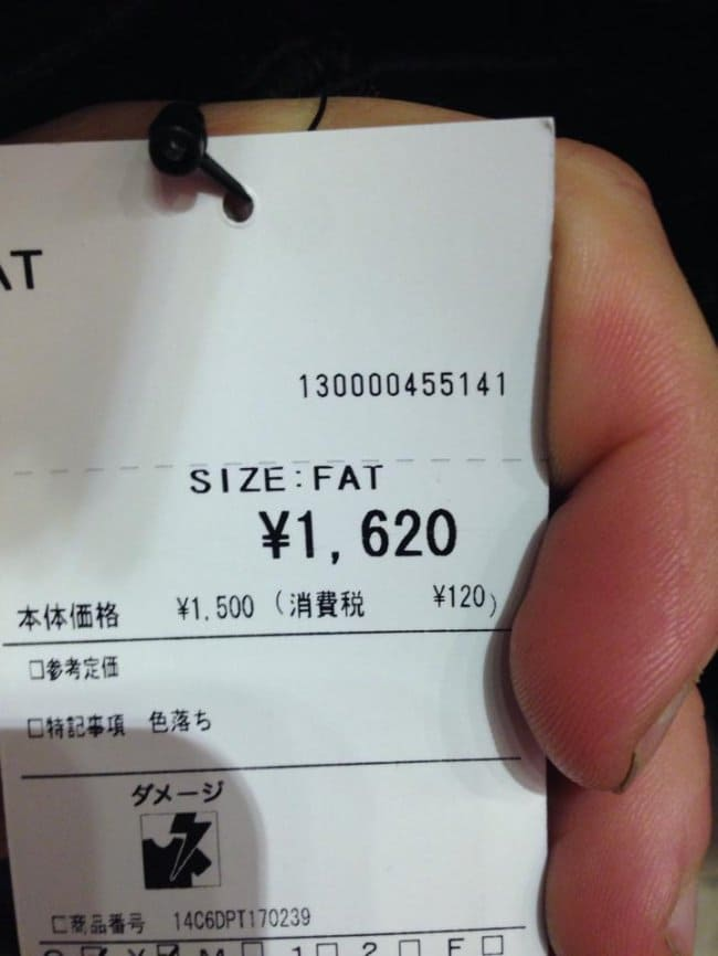 Disappointing Shopping Finds size fat