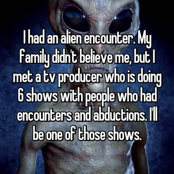 Encounters With Aliens tv producer