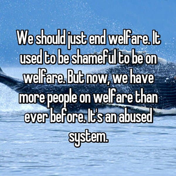 the abuse of the welfare system Welfare ethics it is time the these are glaring cases of abuse of the system, but anytime welfare provides resources that allow the furtherance of destructive.