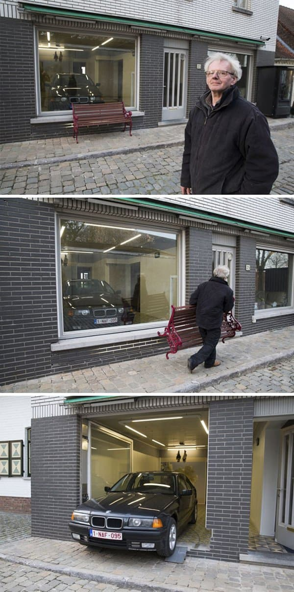 First World Anarchists cant install garage door