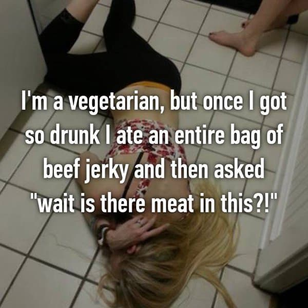 Funny Things That People Did Whilst Drunk beef jerky
