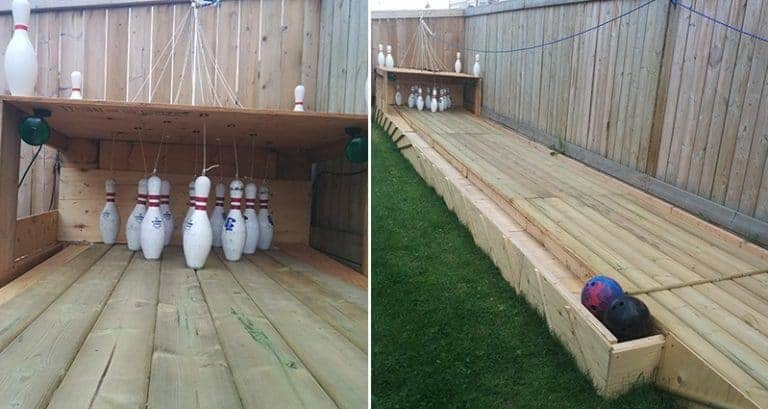 - How To Build Your Own Backyard Bowling Alley