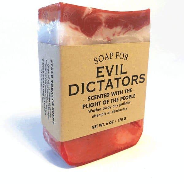 Hilarious Soaps evil dicators