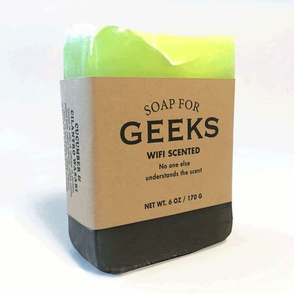 Hilarious Soaps for geeks