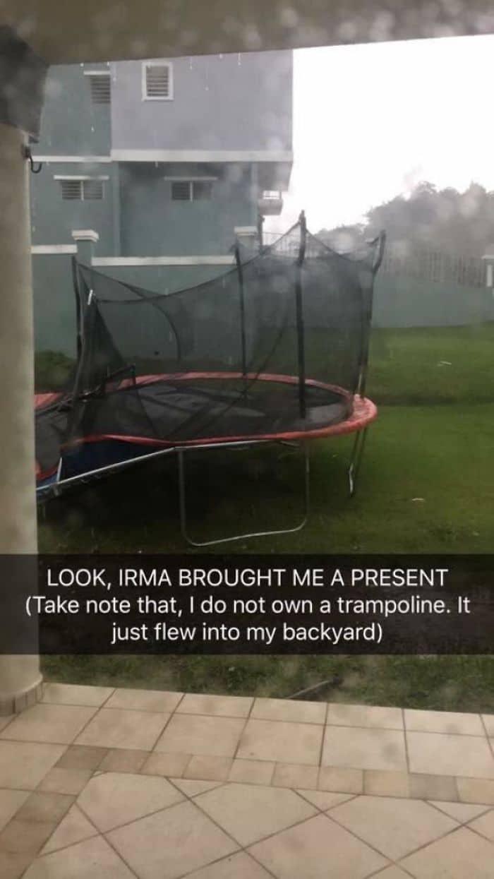 Hurricane Irma bought me a present