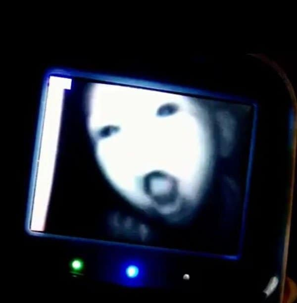 'I Woke Up To This' Moments scary baby monitor