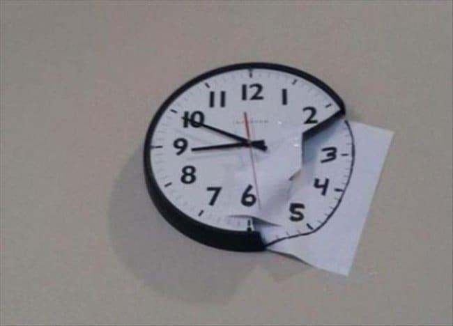 Ideas For Solving Strange Problems broken clock