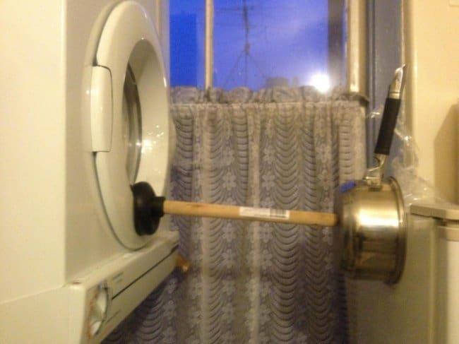 Ideas For Solving Strange Problems broken washing machine door