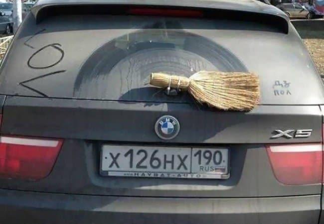 Ideas For Solving Strange Problems brush back car wiper