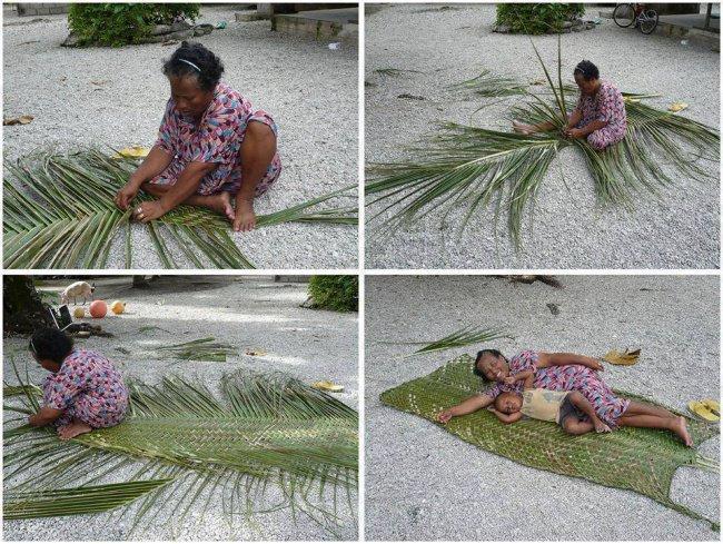 Ideas For Solving Strange Problems palm leaves blanket