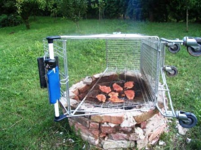Ideas For Solving Strange Problems trolley bbq
