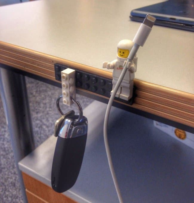 Ideas For Using Everyday Items In Different Ways lego key holder