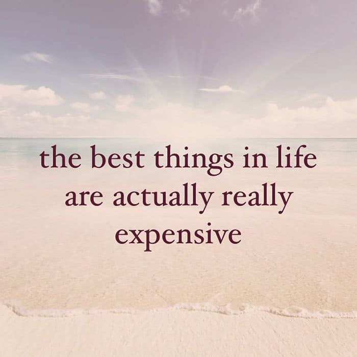 Instagram Account Shares Uninspirational Quotes really expensive