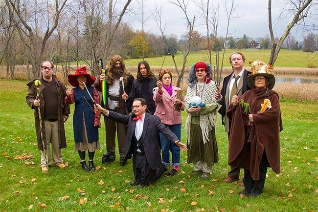 Inventive Teachers halloween dress up