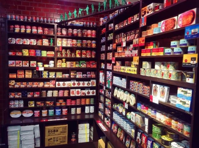 Japanese Inventions canned food bar