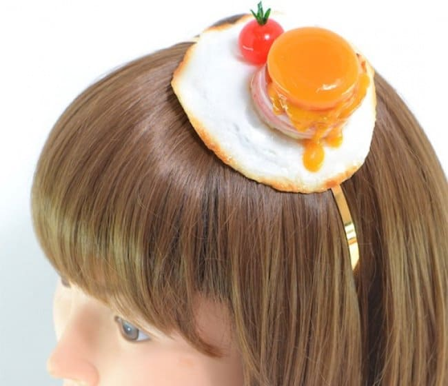 Japanese Inventions fake food headband