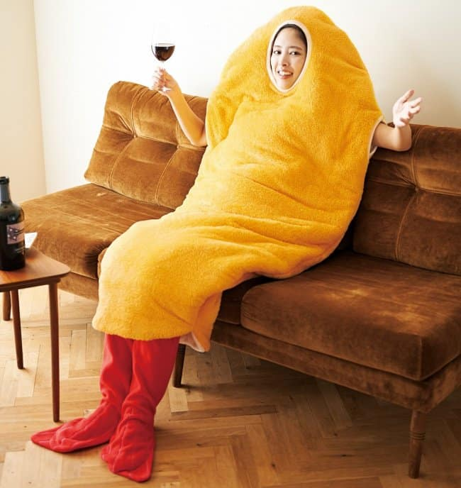 Japanese Inventions fried shrimp onesie
