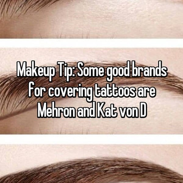 Make Up Tips And Tricks cover tattoos