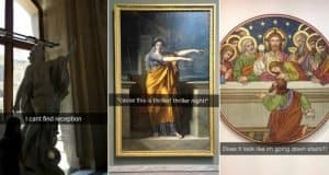 Museum Snapchats That Are Legit Hilarious