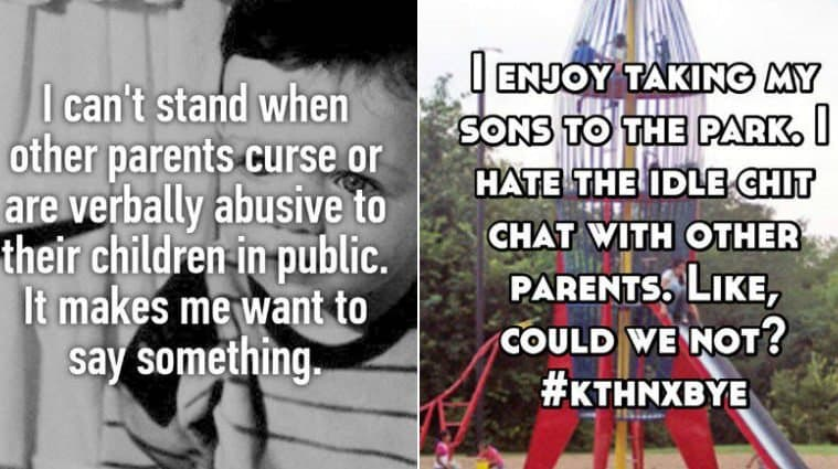 Parents Confess What They Hate About Other Parents