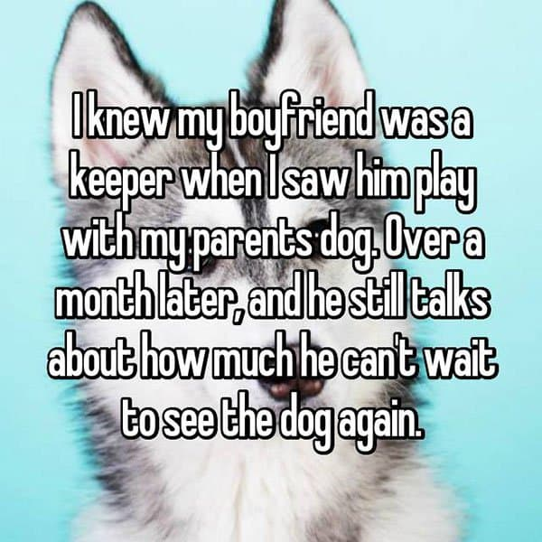 Partners Were Keepers cant wait to see the dog