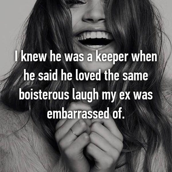Partners Were Keepers loved the laugh